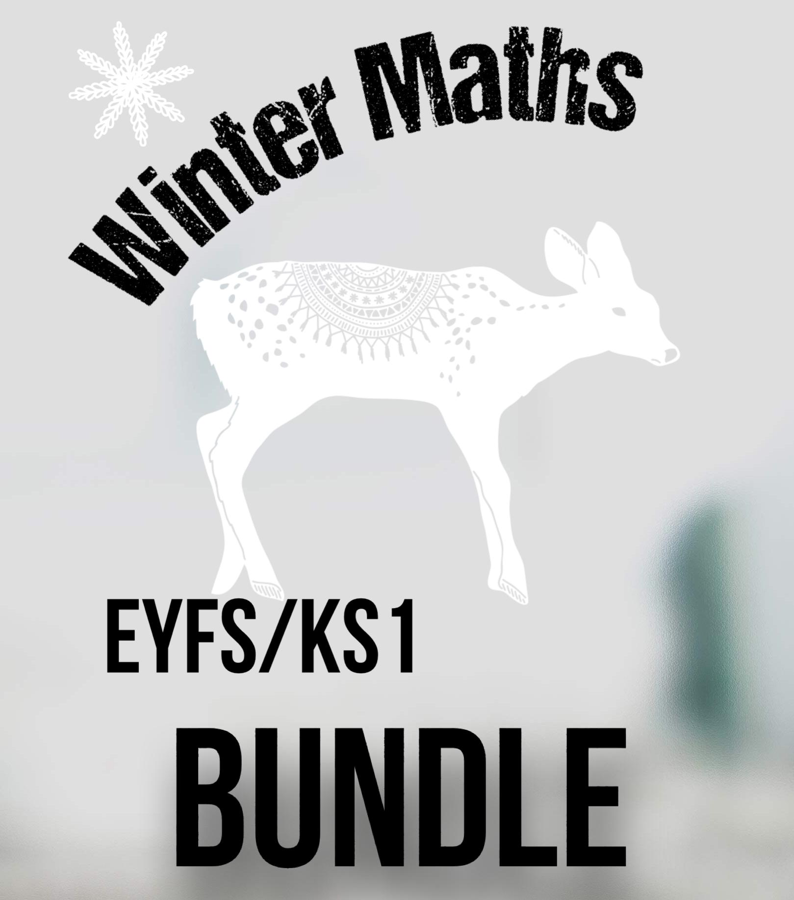 Winter Maths Bundle for EYFS/KS1