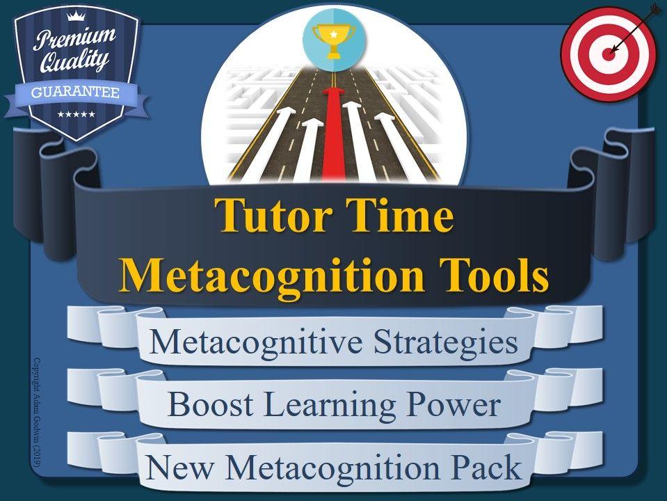 Tutor-Time Metacognition Pack (Form)