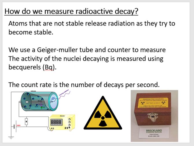AQA P4 Lesson 3 - Radiation properties & types.