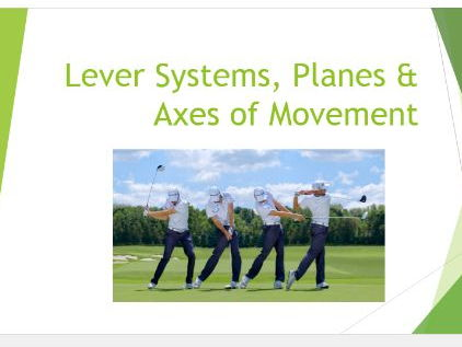 Edexcel New GCSE PE 9-1. Lever Systems & Planes and Axes PowerPoint Presentation