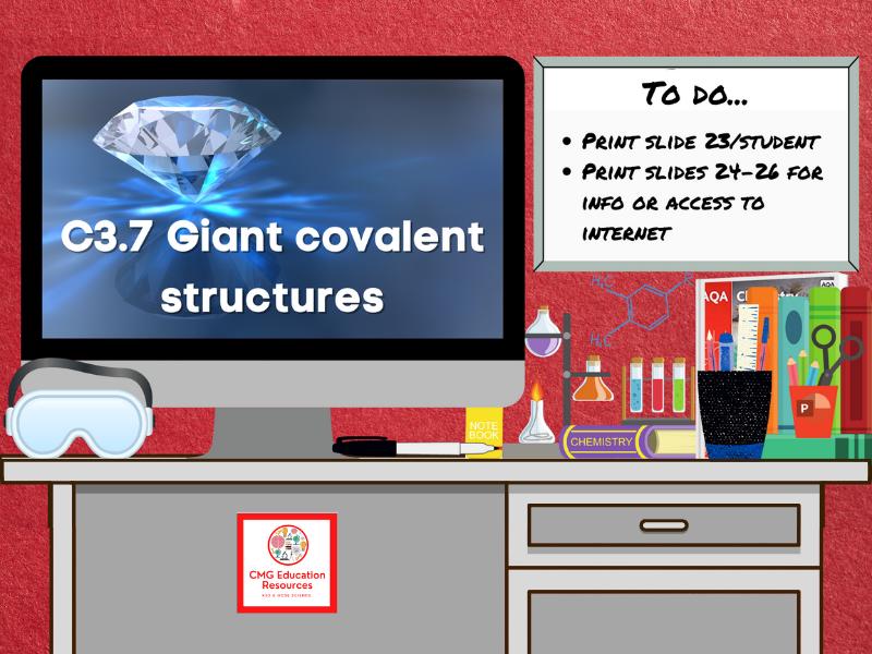 SC3.7 Giant covalent structures (AQA 9-1 GCSE Chemistry)