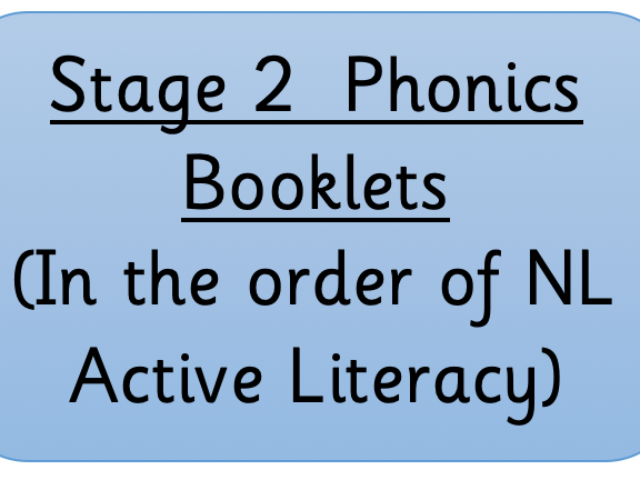 Active Literacy Stage 2 Phonic Books (NL)