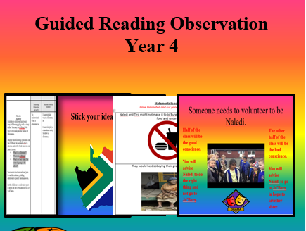 Interview/Observation: Reading Skills Year 4
