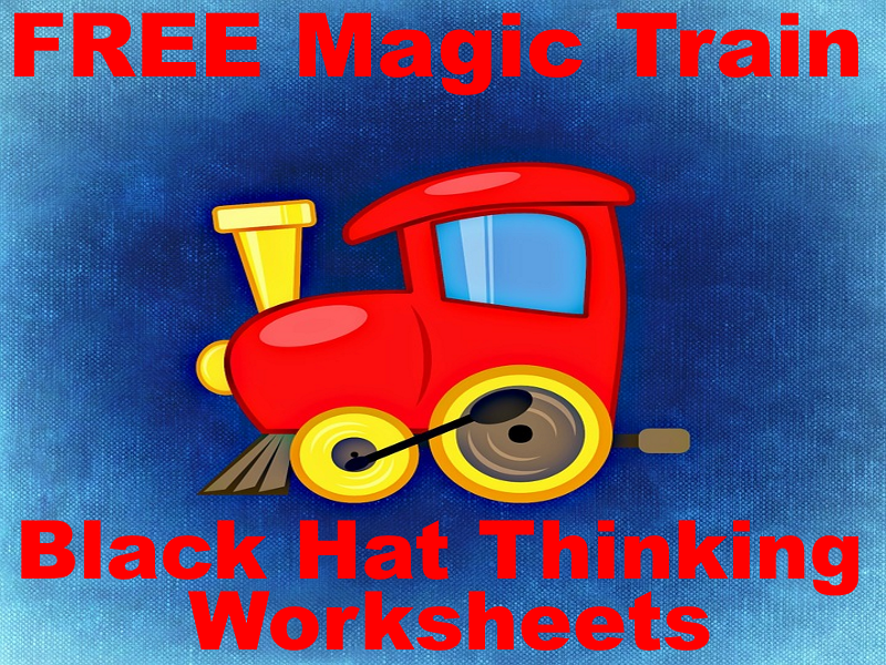 FREE The Magic Train Black Hat Thinking Activities - Problem Solving Has Never Been So Fun!