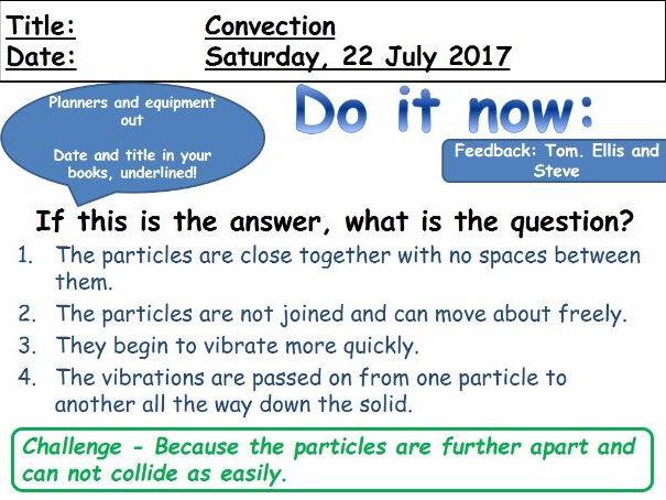 Convection - GCSE Physics