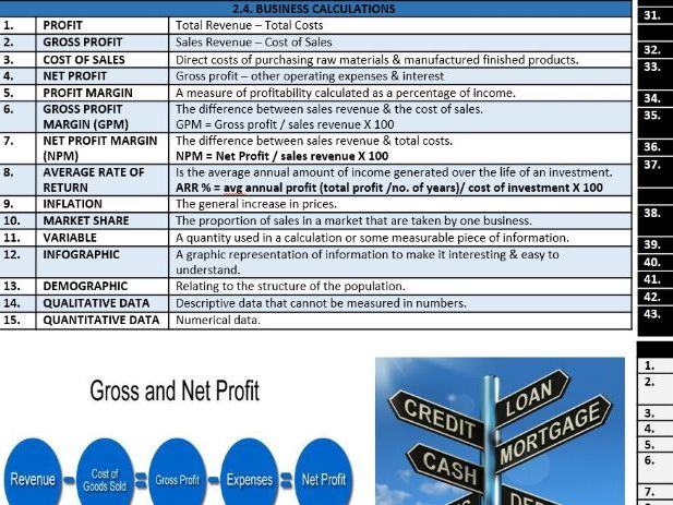 GCSE Edexcel 9-1 Business Knowledge Organisers for Theme 2: Building a Business
