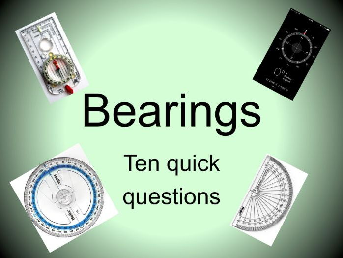Maths GCSE Bearings Doing the simple geometry for foundation by – Foundation Maths Worksheets