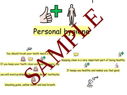 Personal Hygiene SEN