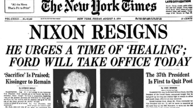 Watergate Aftermath and President Ford