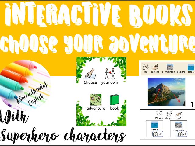 Choose your own adventure (SEN interactive book)
