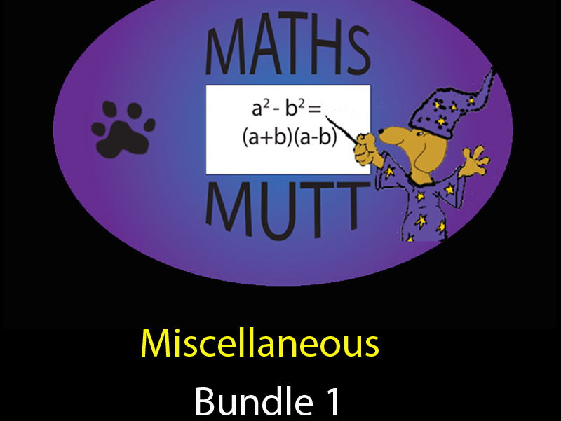 Miscellaneous Bundle 1