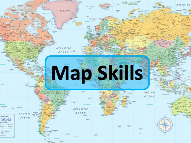 Map Skills unit - 11 lessons - KS3 Geography