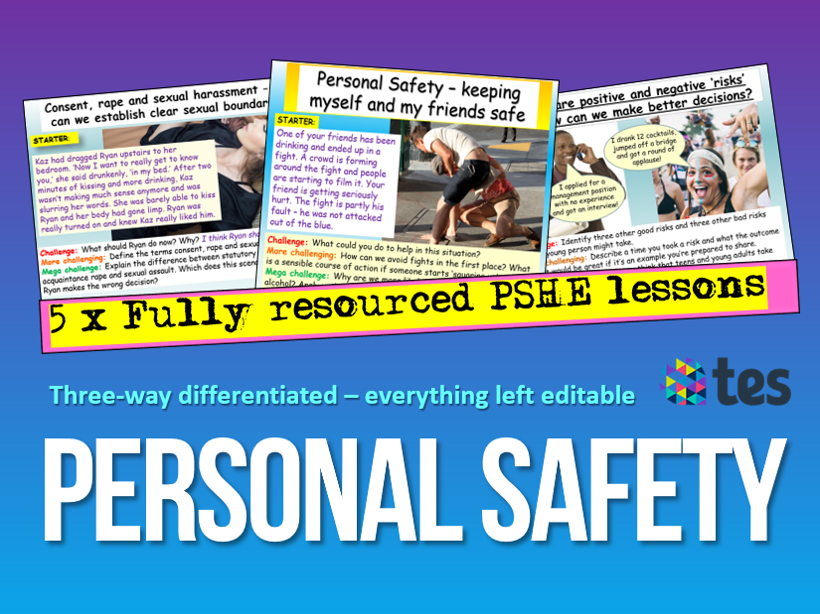 Personal Safety PSHE