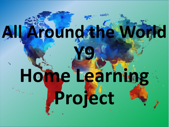 Y9 'All Around the World' Dance Home Learning Tasks (6 Weeks)
