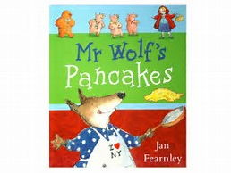 Guided read/write weekly plan linked to Mr Wolf's Pancakes