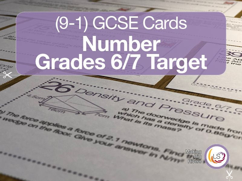 Number | Grade 6/7 target New 9-1 GCSE maths