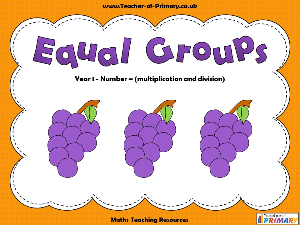 Equal Groups - Year 1