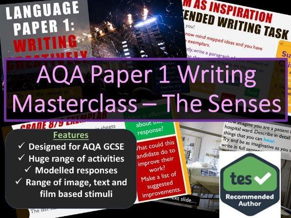 Creative Writing Masterclass - Sensory Description