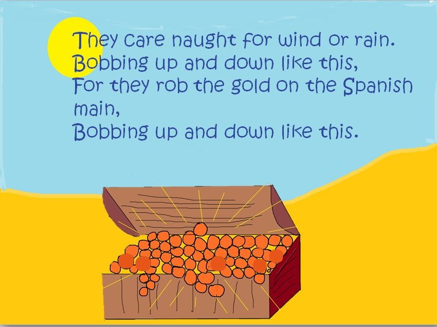 Bobbing up and down like this. Action song  with  easy parts to play. Video,teaching PPT. mp3