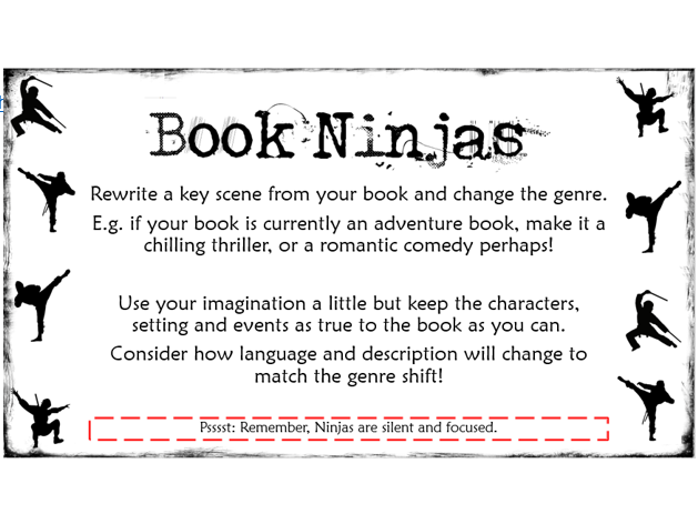'Book Ninjas' Library Tasks
