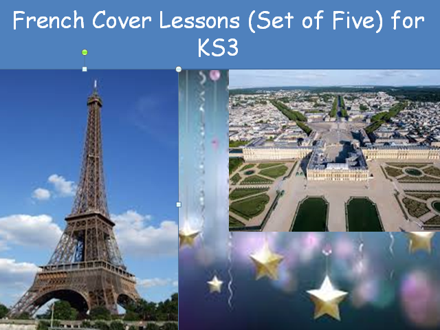 French KS3 Cover lessons Set of Five