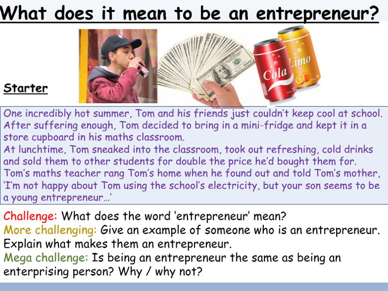 Careers : Entrepreneurs