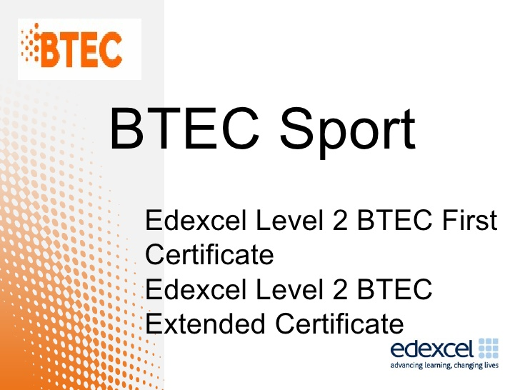 FULL BTEC Level 2 Sport