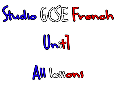 Studio Higher GCSE French - Unit 1