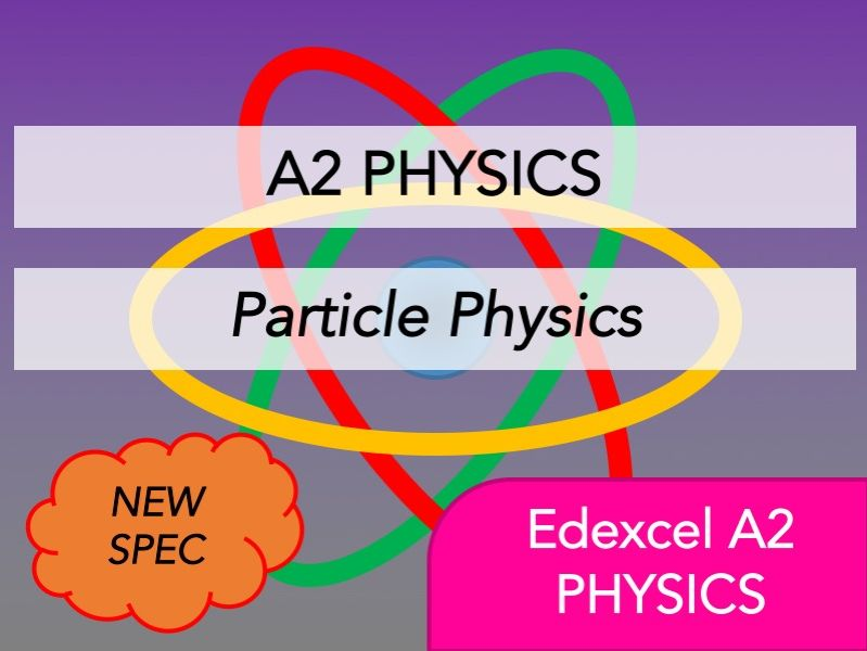 Edexcel A2 Physics(NEW)-Nuclear & Particle Physics-Whole Course Content - Revision, Questions, Notes