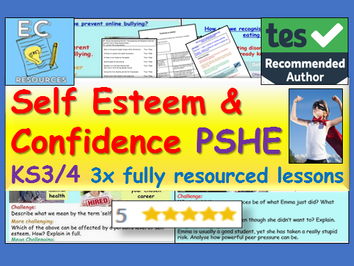 PSHE Self Esteem / Confidence