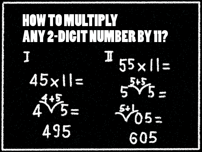 #GoForIt Starter: Multiplying any 2 digit number by 11 Trick