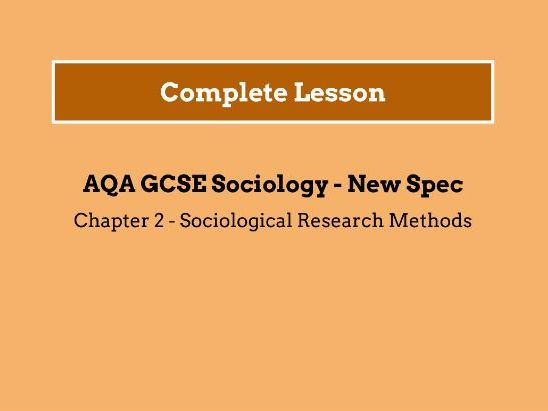 Lesson 5 - The Scientific Method Continued