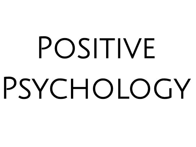WJEC A LEVEL PSYCHOLOGY Positive Approach