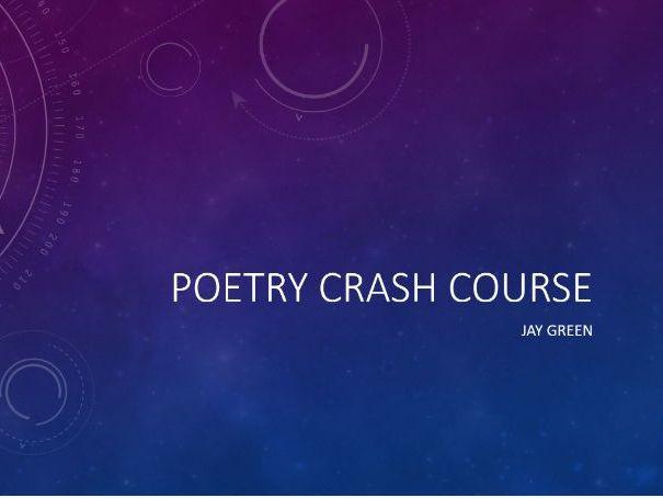 GCSE English Literature (9-1) Edexcel Conflict Poetry Revision Plan