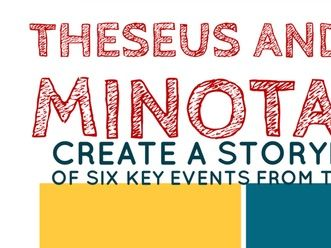 Theseus & The Minotaur Storyboard Activity