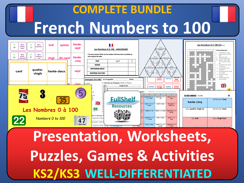French Numbers (Les Nombres)