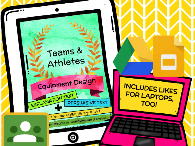 Teams & Athletes: Sports Equipment Design (Explanation Text and Persuasive Text BUNDLE)