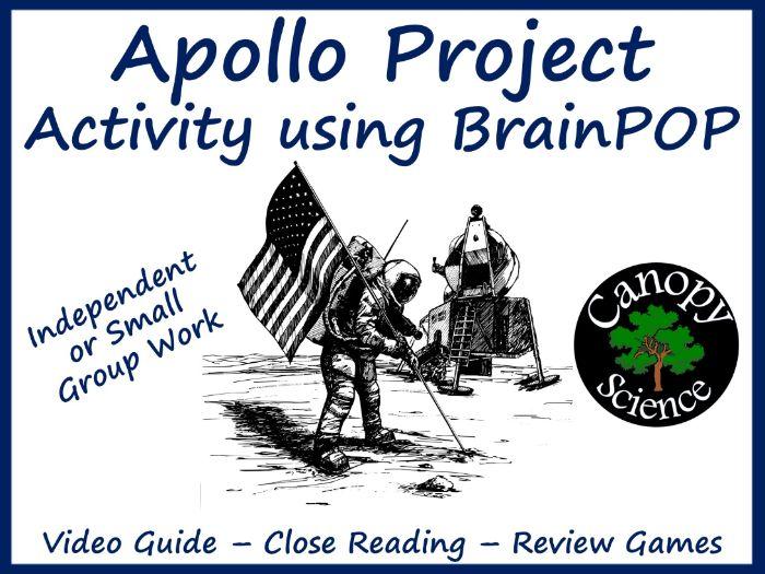 Apollo Project Activity using BrainPOP