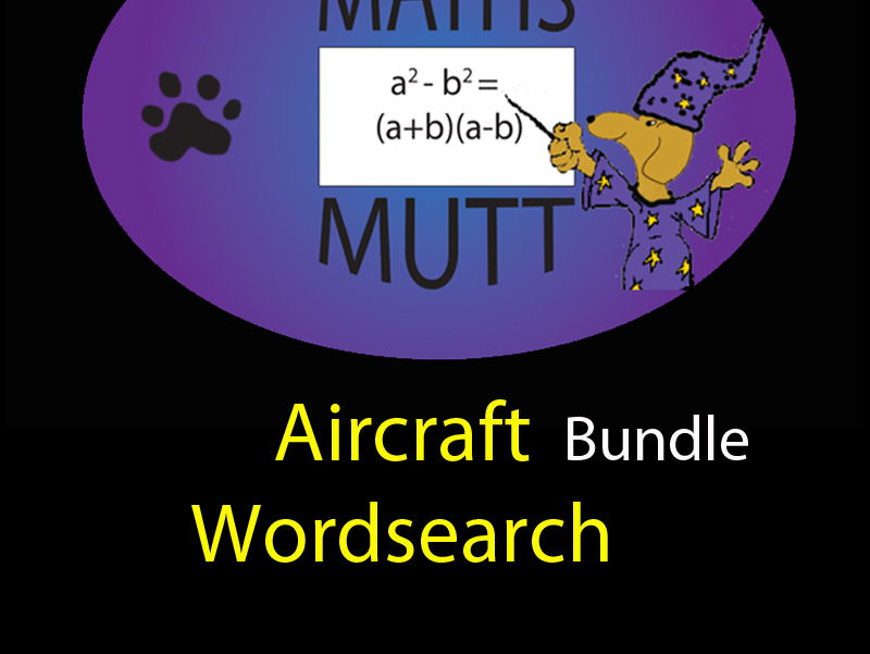 Pooch Puzzles: Aircraft Word Search Bundle