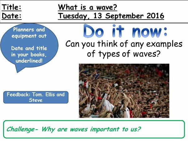 New AQA Physics - Waves Unit of Lessons 4.6 (15 differentiated lessons)