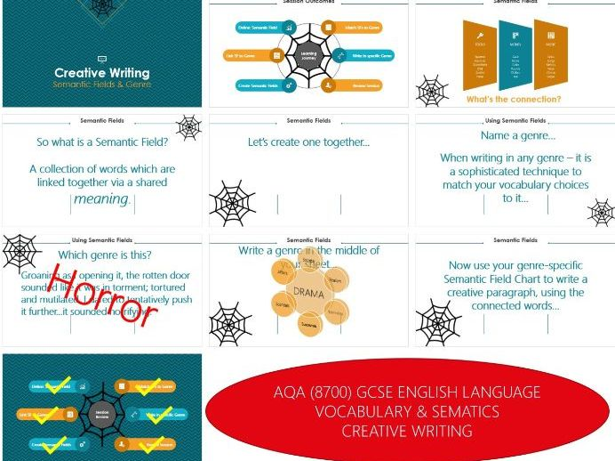 AQA 8700/1 GCSE English Language - Paper 1 - Q5 Semantic Fields & Genre Match