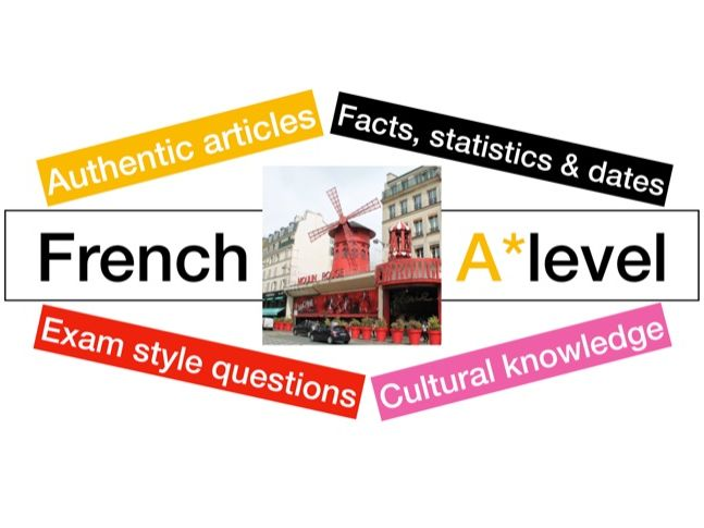 New A level - French - education - les stylos rouges  (reading - exam style questions)