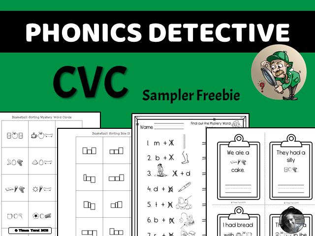 Phonics Detective -- CVC (Sampler)