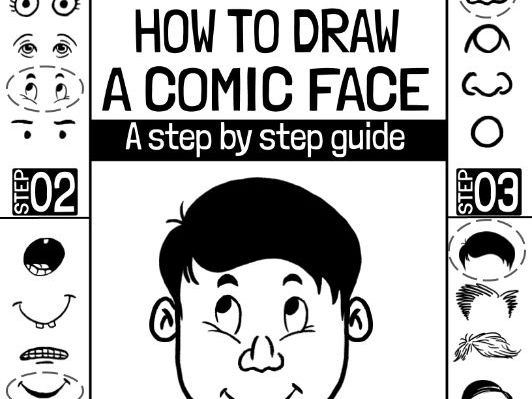 How to Draw a Comic Face (Full PDF)