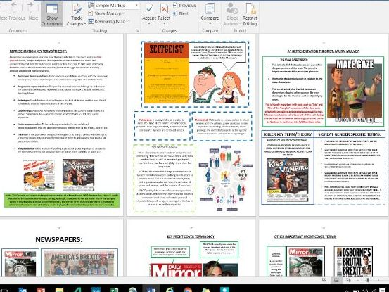 COMPONENT 1 REVISION GUIDE (ALL FORMS COVERED IN BOTH SECTION A AND B)