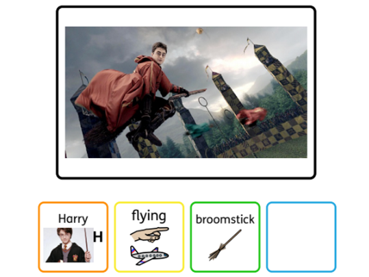 Colourful semantics Harry Potter Stage 3 (widgit)
