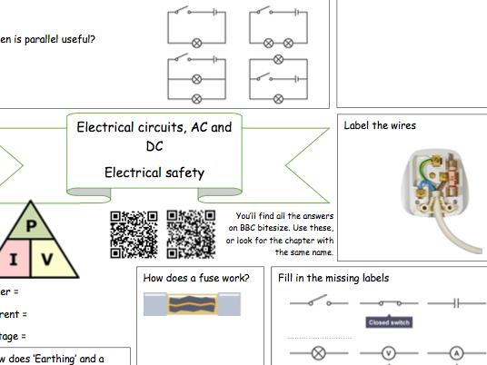 Bitesize Electricity Revision