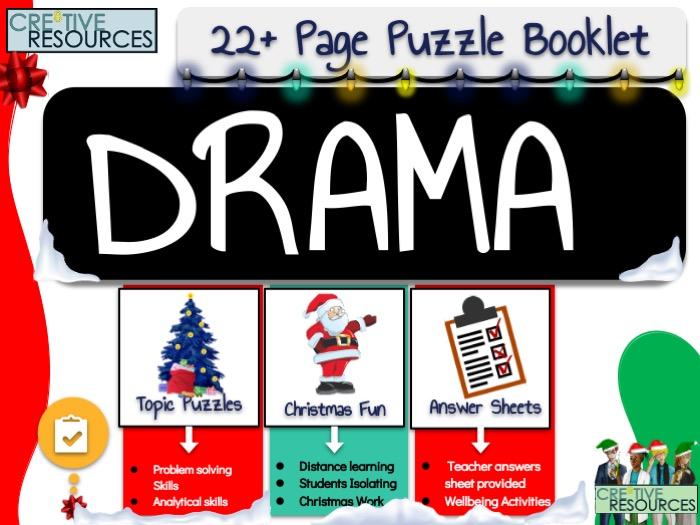 Drama Christmas Activities