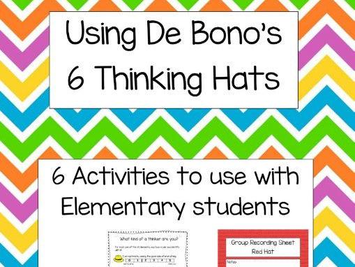 Using De Bono's 6 Thinking Hats