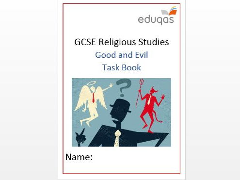 WJEC Eduqas Good and Evil Task Book Workbook